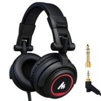 Maono AU-MH501 Studio Monitor Headphones Over Ear for Recording