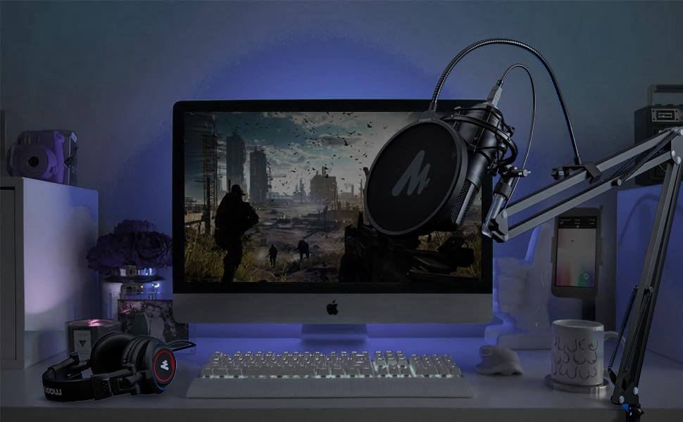 Maono AU MH501 Studio Monitor Headphones Over Ear for Recording 8