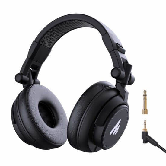 Maono AU-MH601 DJ Studio Monitor Headphones