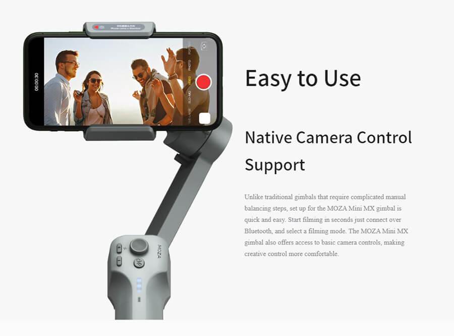 Moza-Mini-native camera