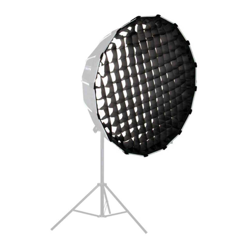 Nanlite Grid Match with parabolic softbox of 90CM