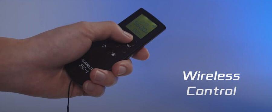 Nanlite-forza-60B_Remote-control