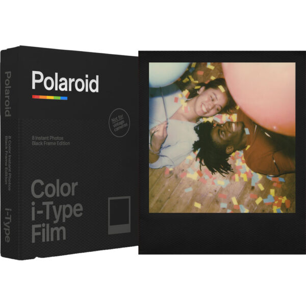 Polaroid Color i Type Instant Film Black Frame Edition 2