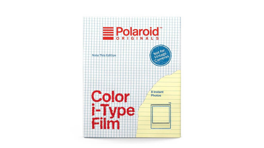 Polaroid (PLO4968) Instant Color I-Type Film - Note This Edition