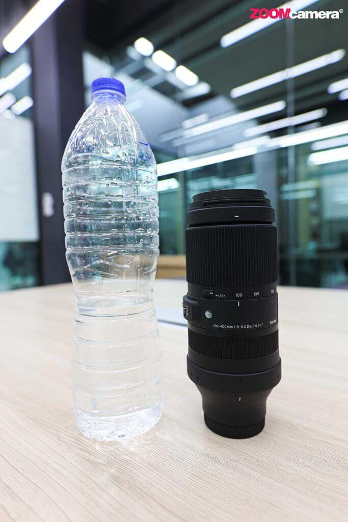 Sigma 100 400mm for Sony and L mount Compare Min zoom