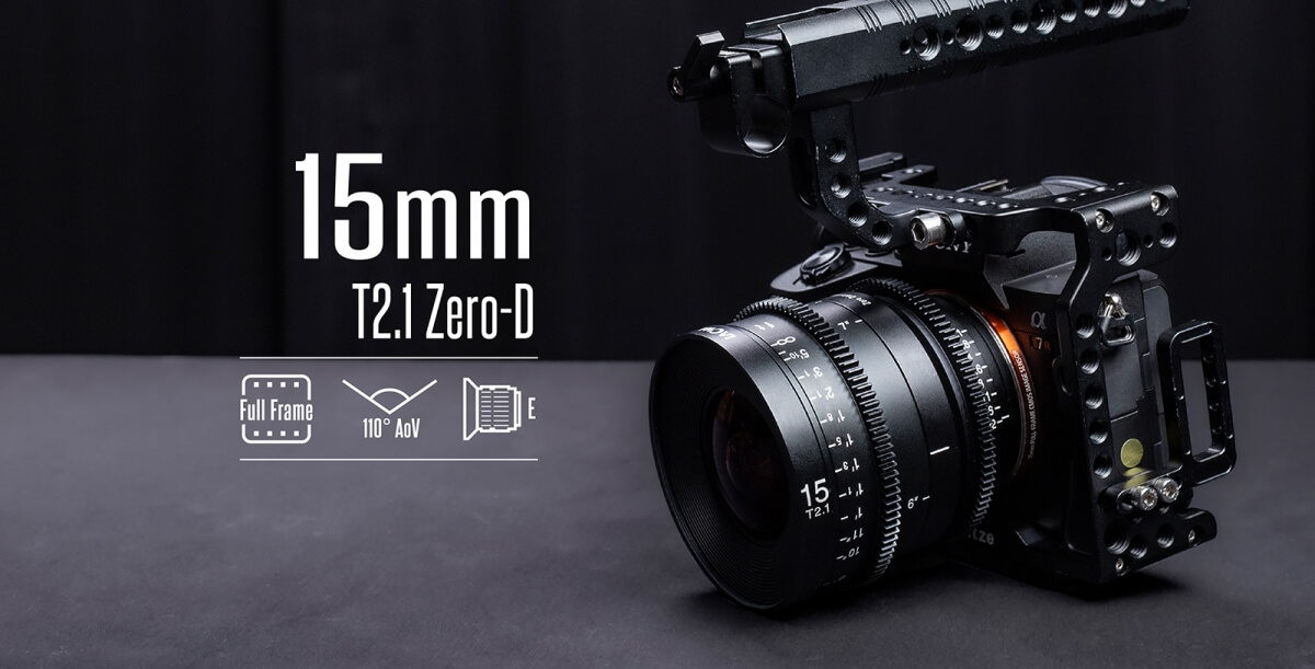 Venus Optics Laowa 15mm T2.1 Zero D Cine Lens Sony E Feet 10