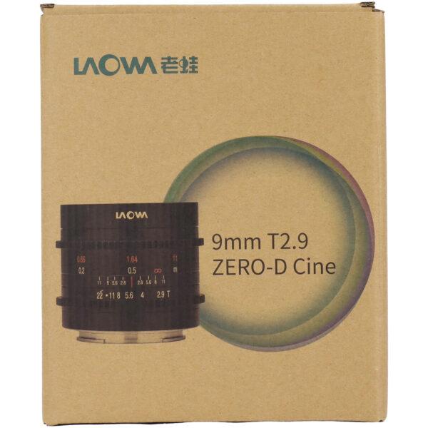 Venus Optics Laowa 9mm T2.9 Zero-D Cine Lens