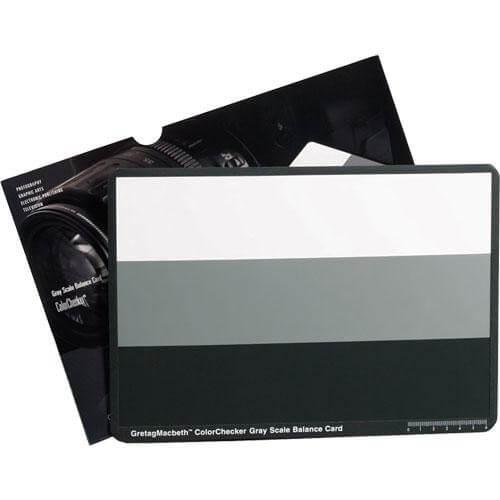 X Rite ColorChecker Gray Scale Card 1