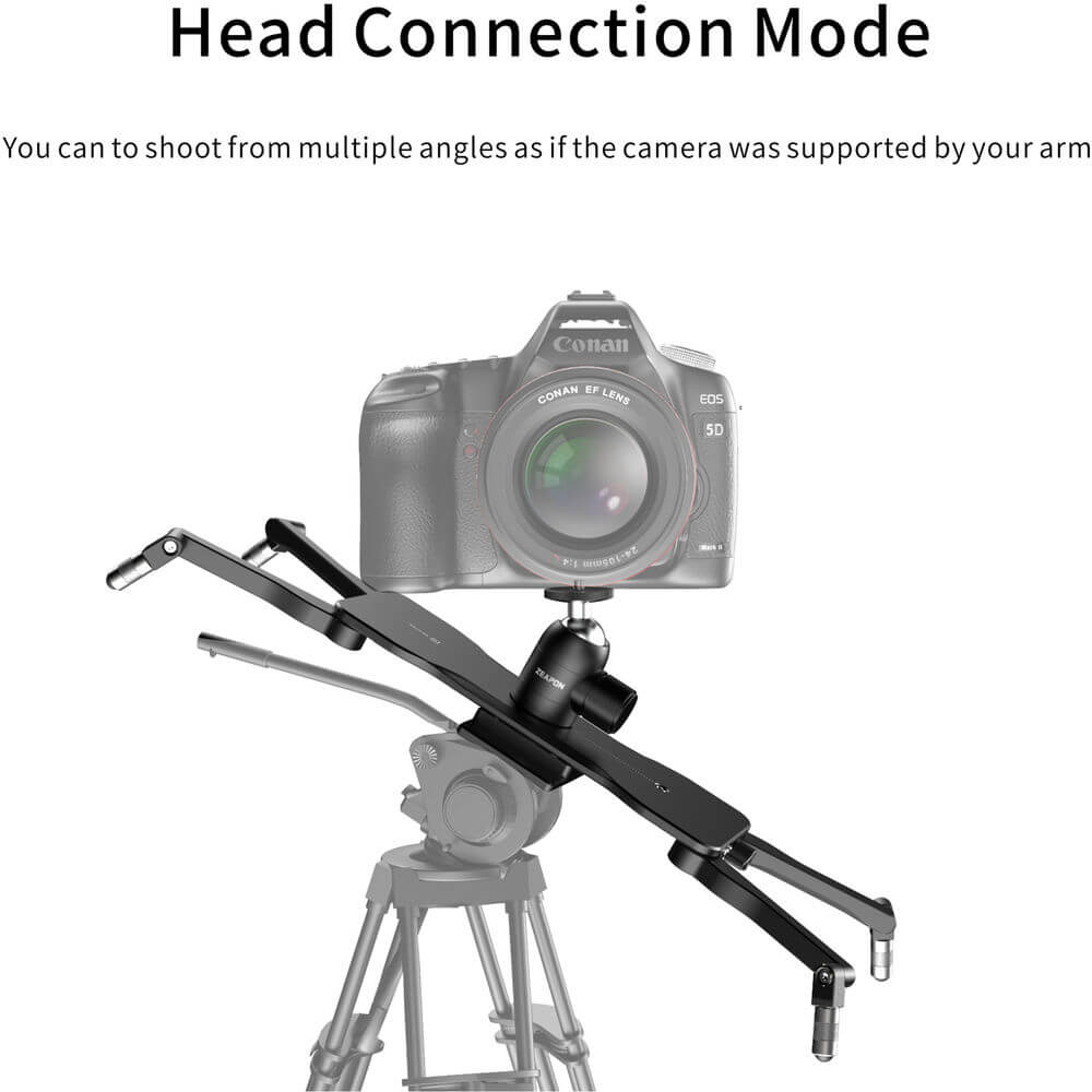 Zeapon EasyLock 2 Low-Profile Mount with Ball Head