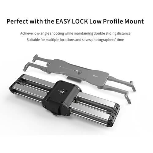 Zeapon Micro 2 Micro Rail Slider with EasyLock 2 Ball Head Bundle 2