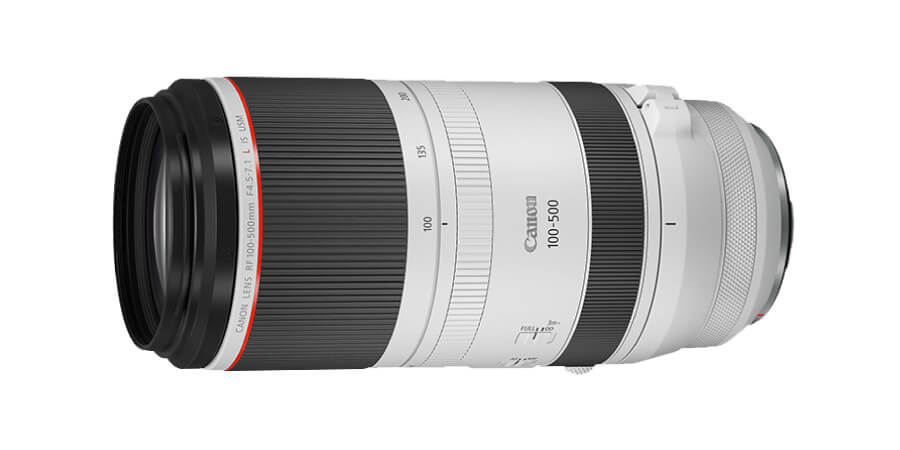 สเปค Canon RF 100-500mm f/4-7.1 L IS USM