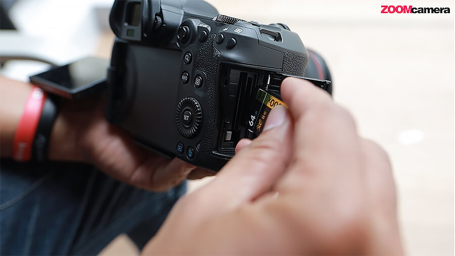 Canon EOS R5 รีวิว Canon EOS R6 EOS R5 ใช้แค่การ์ด UHSII ถ่ายได้สูงสุดเท่าไหร่