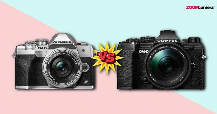 เปรียบเทียบ Olympus OM-D E-M10 IV vs Olympus OM-D E-M5 III