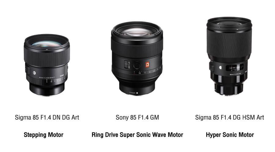 เปรียบเทียบ Sigma 85mm. F1.4 DN DG ART FE ระบบ Focus