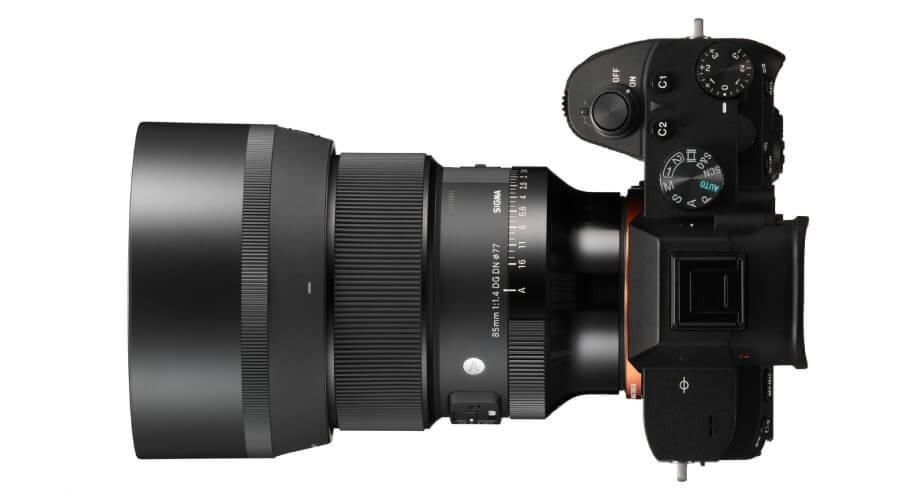 เปรียบเทียบ Sigma 85mm. F1.4 DN DG ART FE