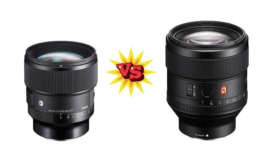 Sigma 85 F1.4 ART FE vs Sony 85 F1.4 GM