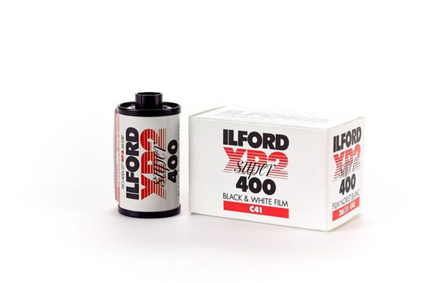 Ilford 135 ISO400 XP2 Super Black and White Negative Film 35mm Roll Film 36 Exposures 2