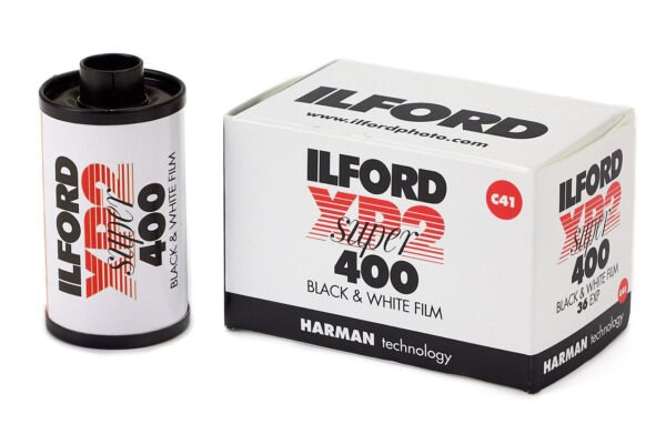 Ilford 135 ISO400 XP2 Super Black and White Negative Film 35mm Roll Film 36 Exposures 6