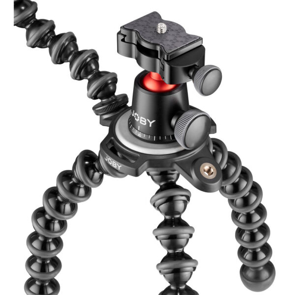 JOBY GorillaPod 3K PRO Rig (Black/Charcoal/Red)