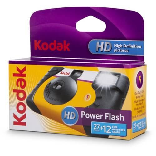 Kodak Sigle Use ISO800 Power Flash Camera 2412 EXP 1 1