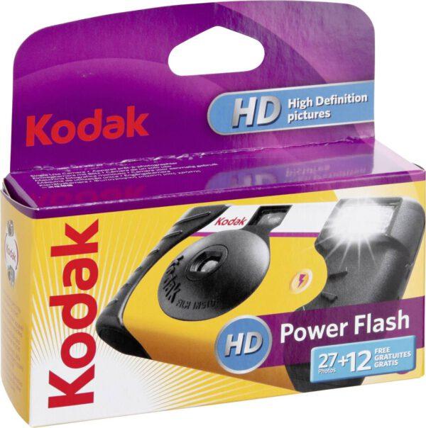 Kodak Sigle Use ISO800 Power Flash Camera 24+12 EXP