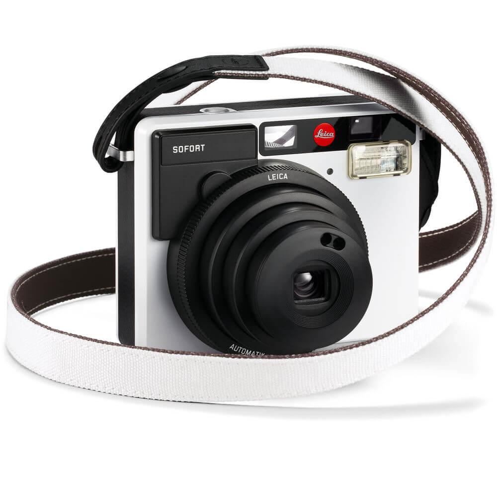 Leica Strap for Sofort Instant Film Camera WhiteBlack 2