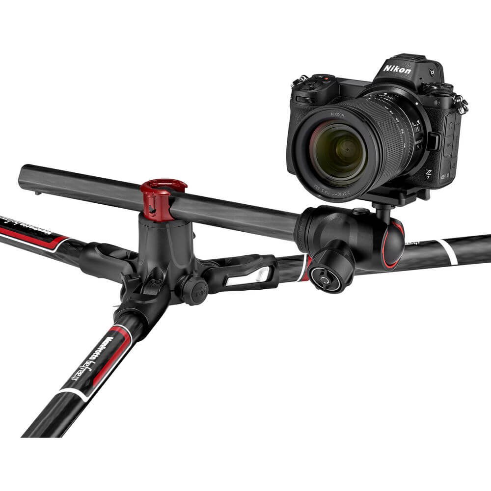 Manfrotto Befree GT XPRO Carbon Fiber Travel Tripod with 496 Center Ball Head
