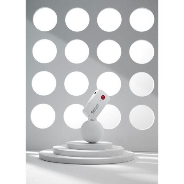 Saramonic Blink 500 B1 Digital Camera-Mount Wireless Omni Lavalier Microphone System (2.4 GHz, Snow White)