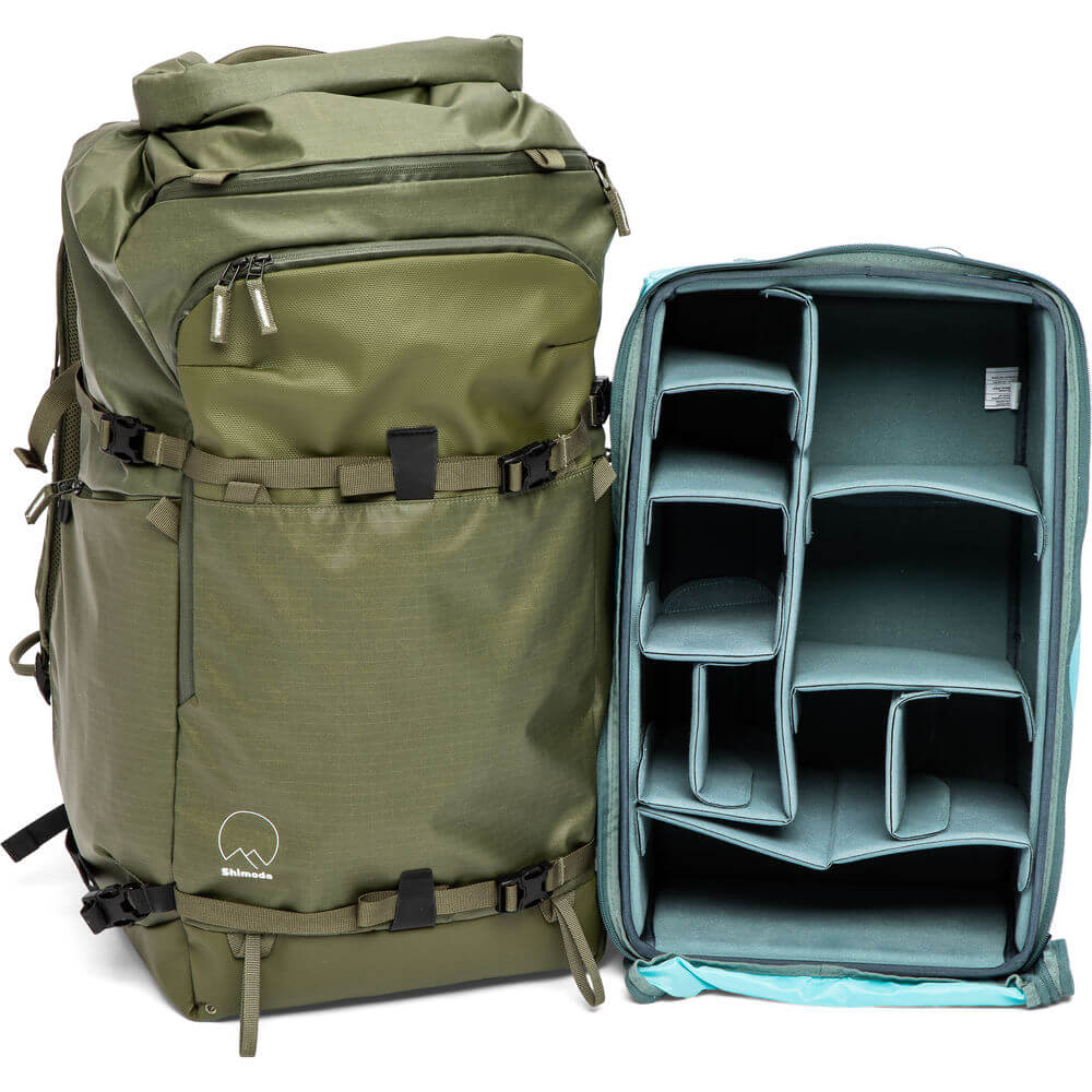 Shimoda Designs Action X70 Backpack Starter Kit Army Green 1