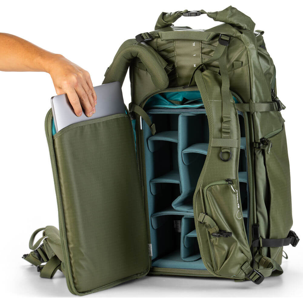 Shimoda Designs Action X70 Backpack Starter Kit Army Green 10
