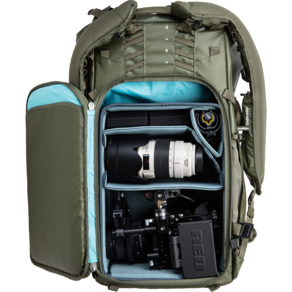 Shimoda Designs Action X70 Backpack Starter Kit Army Green 6