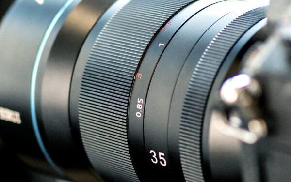 Sirui 35mm f/1.8 1.33x Anamorphic Lens