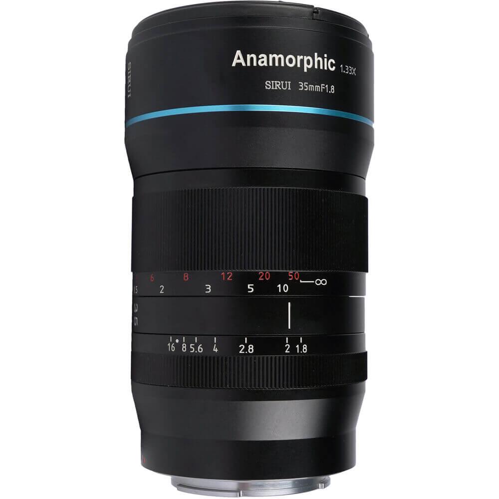 Sirui 35mm f1.8 Anamorphic 1.33x Lens (MFT Mount)