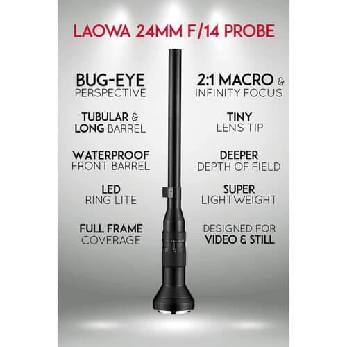 Venus Optics Laowa 24mm f14 Probe Lens 2