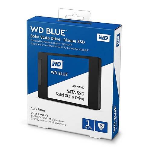 WD Blue 3D NAND SATA SSD 1TB WDS100T2B0A