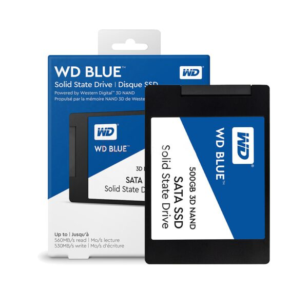 WD Blue 3D NAND SATA SSD 500Gb WDS500G2B0A 3