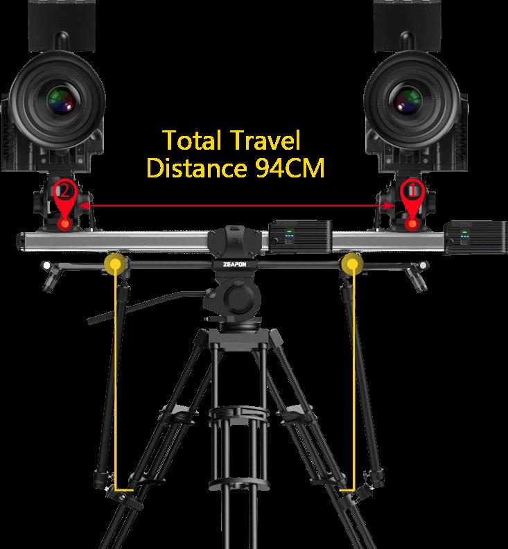 Zeapon Micro 2 E600 Motorized Double Distance Camera Slider 5