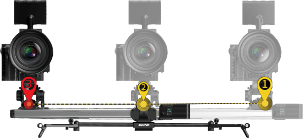 Zeapon Micro 2 E600 Motorized Double Distance Camera Slider 8
