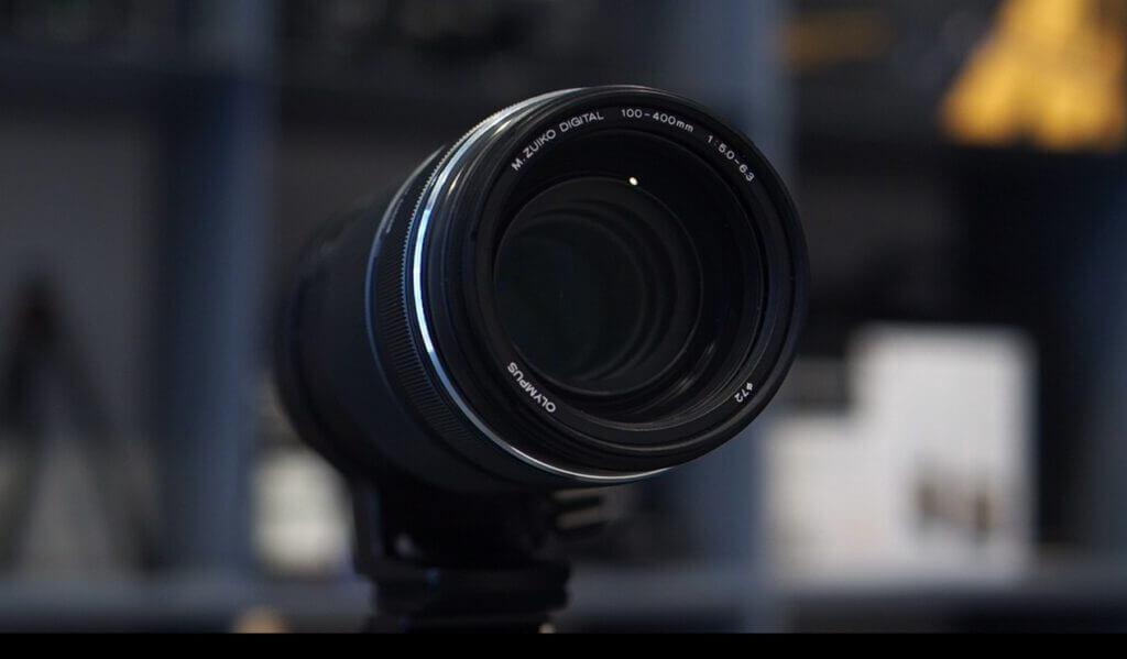 รีวิว Olympus M.Zuiko 100-400mm f5-6.3 IS ขนาด Filter