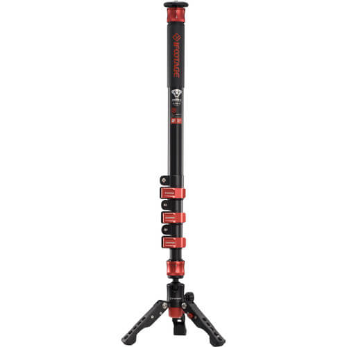 iFootage Cobra 2 A180 II Aluminum Monopod with Low Profile Tripod 1
