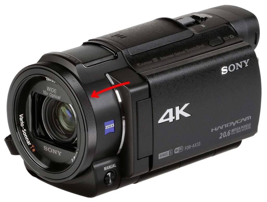 sony handycam AX33