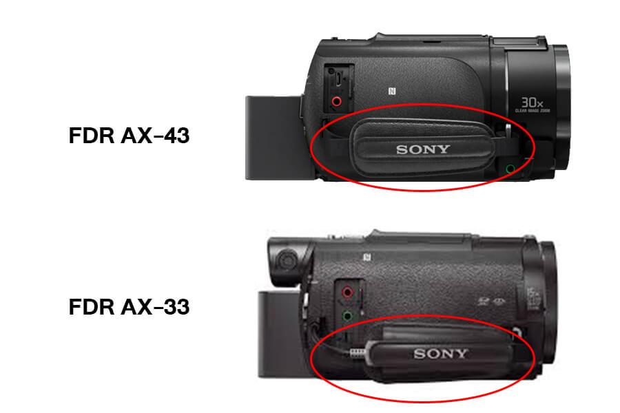 sony handycam AX43 USB charging