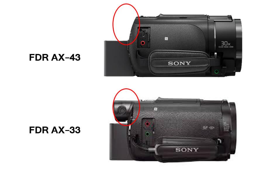 sony handycam AX43 View finder