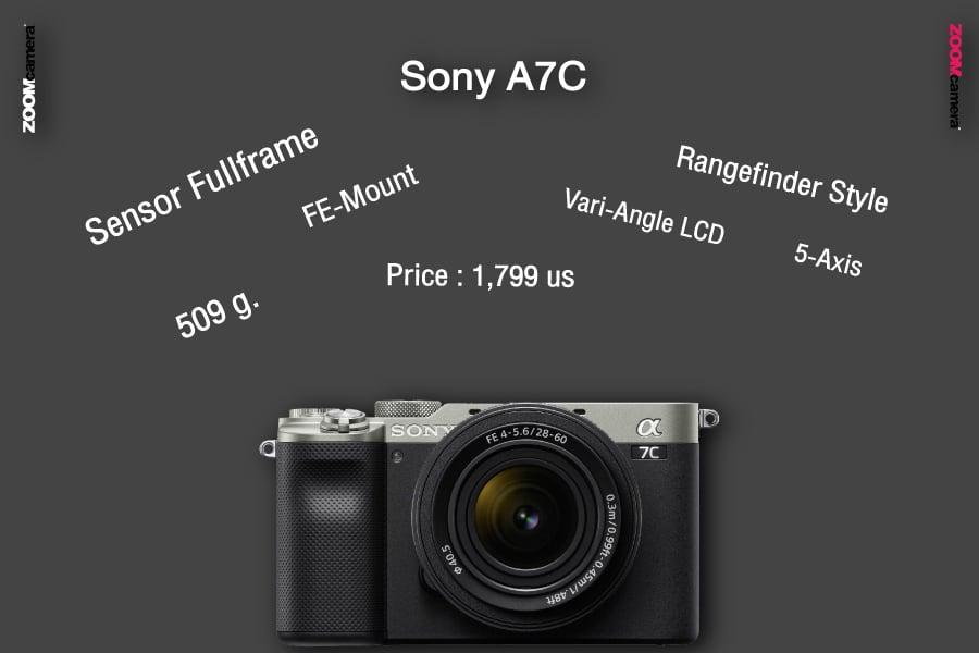 รีวิว เปรียบเทียบ sony a7c feature zoomcamera