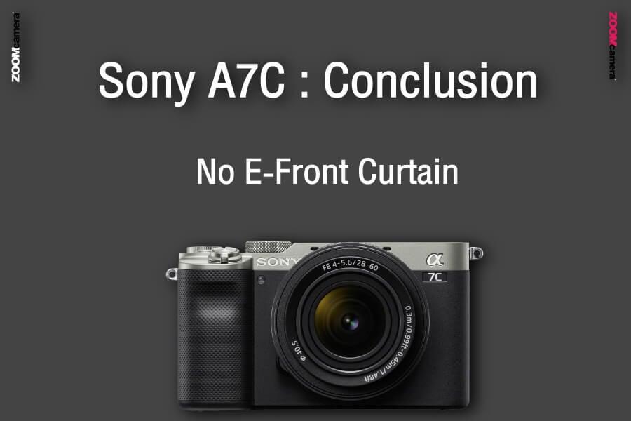 รีวิว เปรียบเทียบ sony a7c vs sony a7iii conclusion e front curtain zoomcamera
