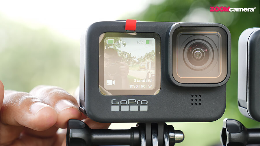 GoPro Hero 9 จอหน้า Mode 1