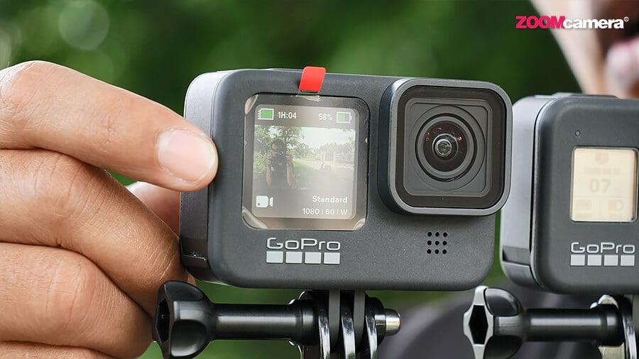 GoPro Hero 9 จอหน้า Mode 2