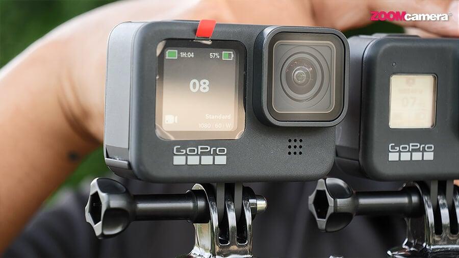 GoPro Hero 9 จอหน้า Mode 3