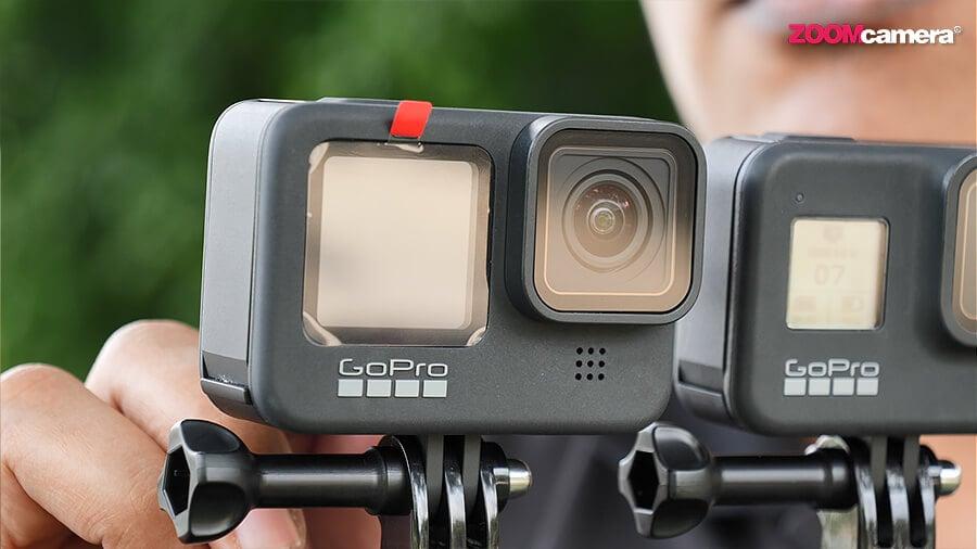 GoPro Hero 9 จอหน้า Mode 4