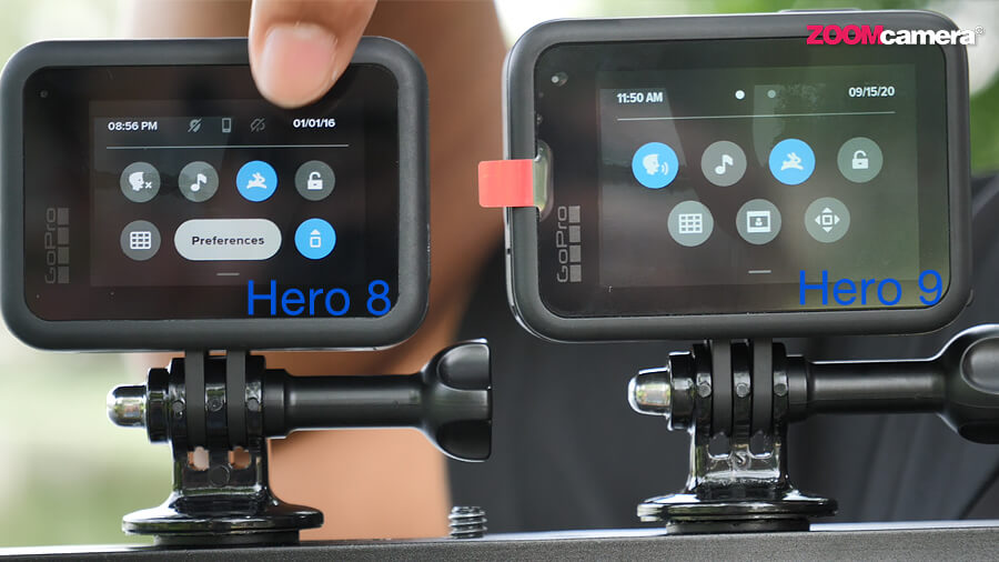 GoPro Hero 9 จอหลัง